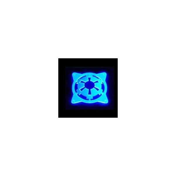 SB 3D UV FAN GRILL WITH EMPIRE bleu