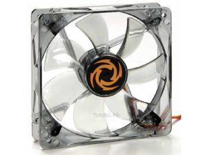 Revoltec Fan Dark Grey, 120x120x25 mm, 4 x white LED