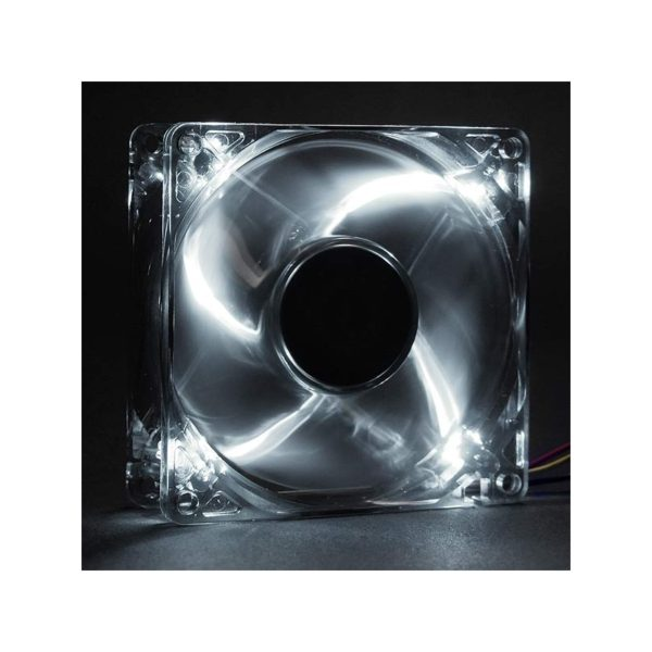 Revoltec Fan Dark Grey, 120x120x25 mm, 4 x white LED