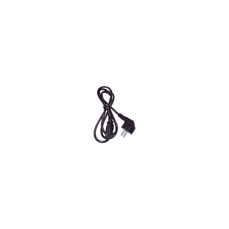 Equip Power supply cable VDE 1,8m black