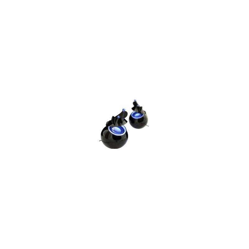 USB Mouse speakers Blue Led