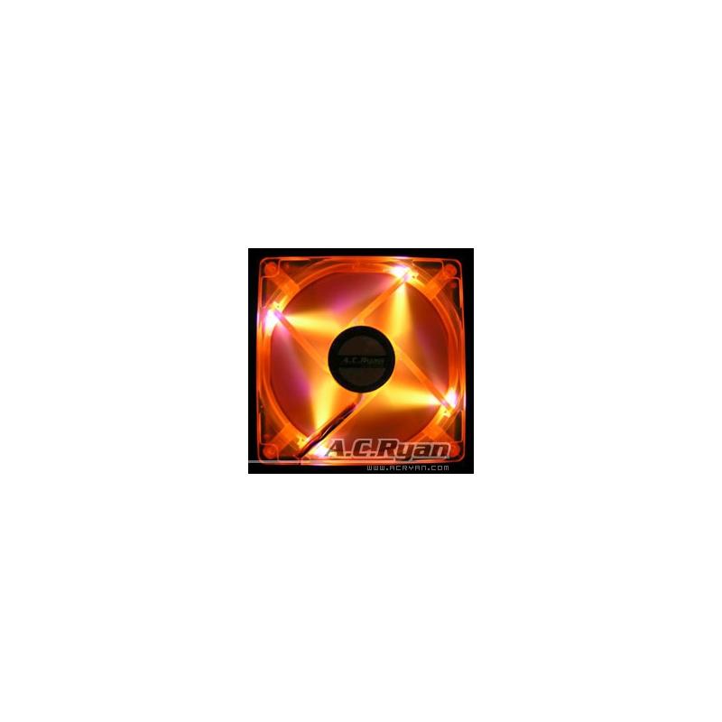 ACRyan Blackfire 4 UV orange LED Fan 92mm