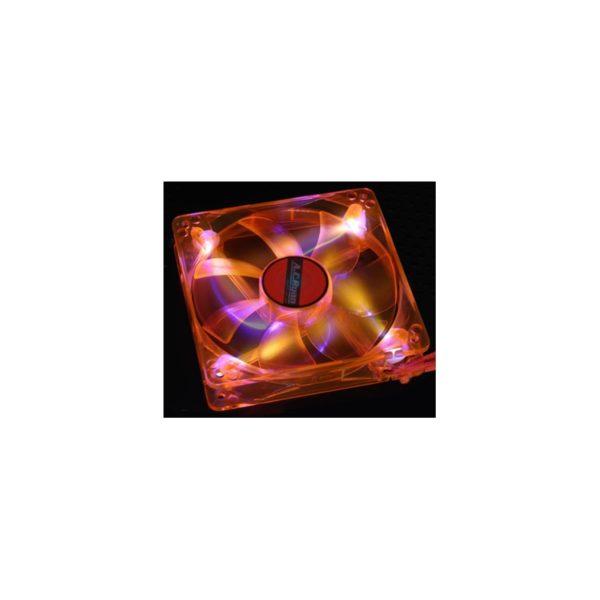 ACRyan Blackfire4 UV LEDFan - 120mm UVOrange 4x UV LED