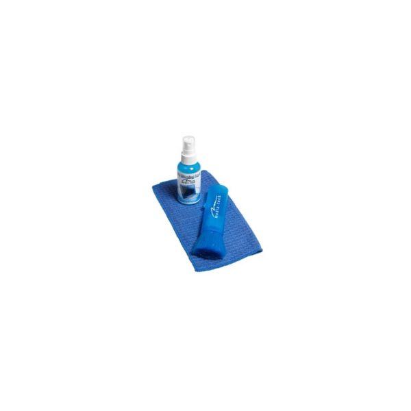 Media Tech LCD Cleaning Kit brush liquid lint free cloth