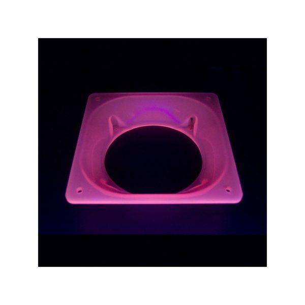 Fan adapter Acryl 80-120 Red UV