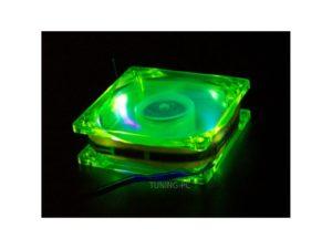 ACE Fan 80mm UV Yellow Green
