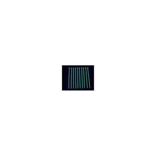 Cables assembler 120mm 20pc UV Green