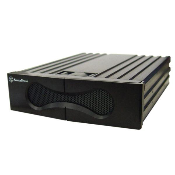 Silverstone FP53 5,25 HD Cool Anti-Vib Black