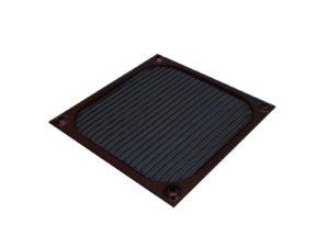 Fan Filter Alu 92mm Black