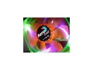 Aerocool Fan 80mm Green Orange Quad UV led