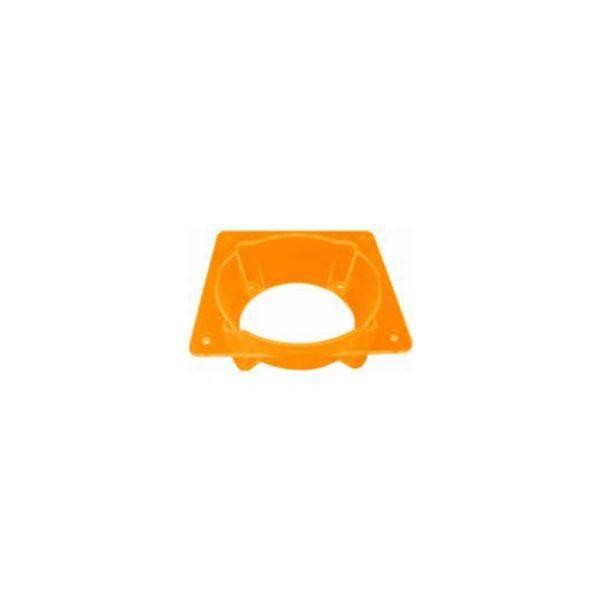 Fan Adapter 60/80mm UV Orange