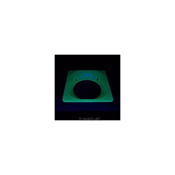 Fan Adapter 80/120mm UV Green