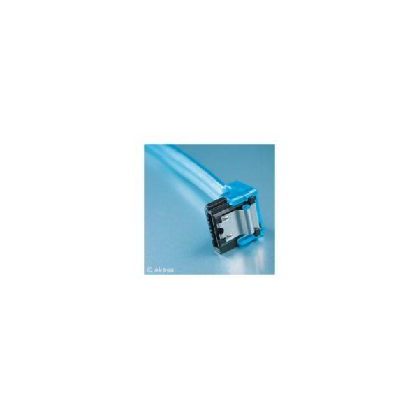 Akasa Sata II Blue UV 100cm cable