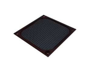 Fan Filter Alu 120mm Black