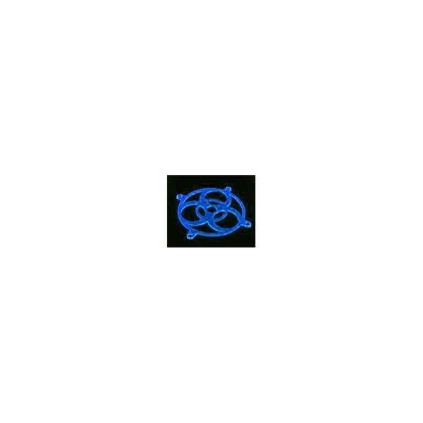Bitspower Fan Grill BIOHAZARD UV Blue 120mm