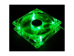 Zalman ZM-F1 Led Green 80mm