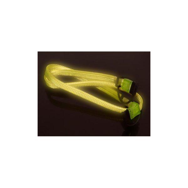 Vizo S-ATA Cable UV Yellow 60cm