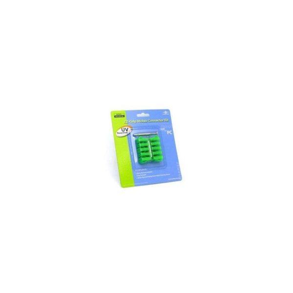 Vantec Ez Grip Molex kit Green UV