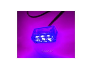 3 Spread Clear Box LED UV