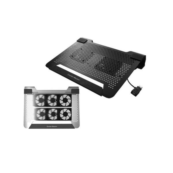 Cooler Master Notepal U2 2x 80mm Fan Black