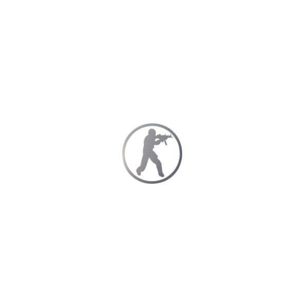Window Sticker CounterStrike Silver
