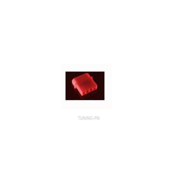 Acrayan Molex 4 Pin Male UV Red