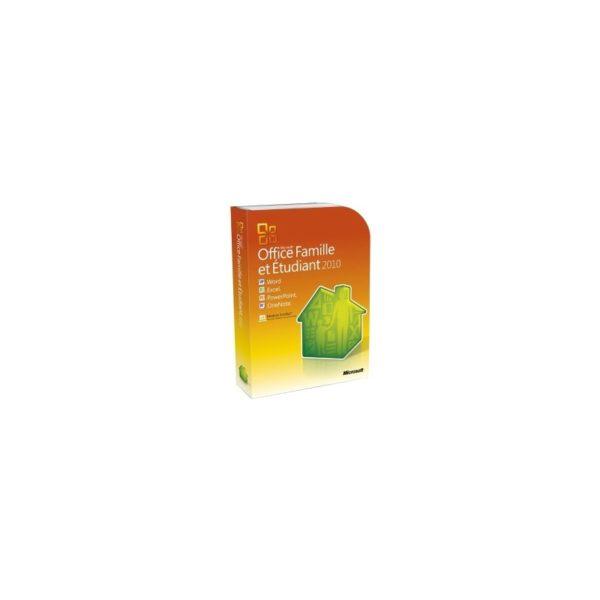 Microsoft Office Famille et Etudiant 2010 (FR) - DVD 3 PC